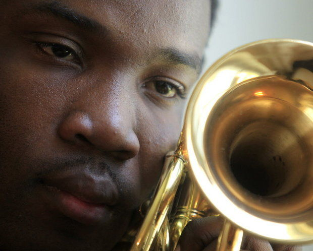 Trumpeter Shamarr Allen's Eye Opening Trip to the Congo