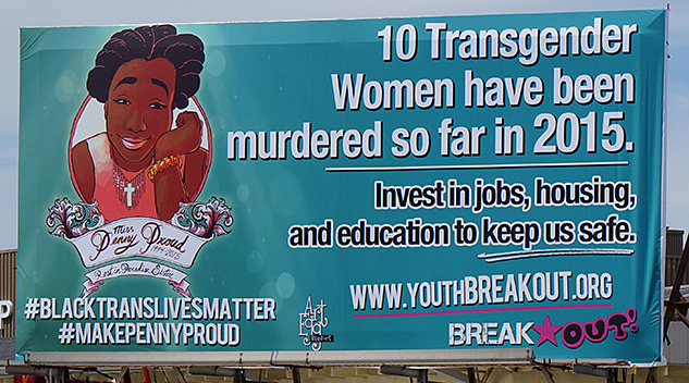 New Orleans Billboard Raises Awareness Surrounding Transphobic Violence