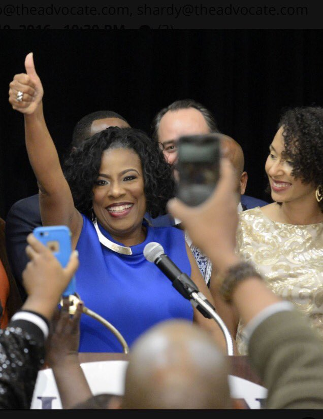 Sharon Weston Broome Elected First Ever Black Female Mayor of Baton Rouge