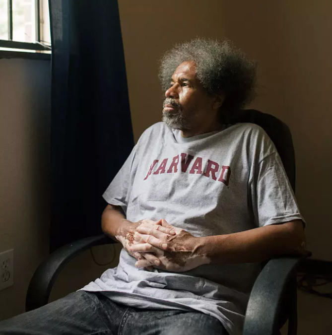 Angola 3 inmate: from solitary cell to centre of the community
